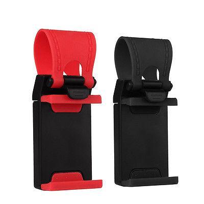 Universal Car Steering Wheel Clip Mount Holder Cradle Stand