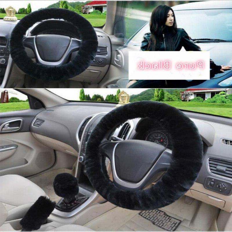 Universal <font><b>Steering</b></font> Covers & Gear Set Car Interior