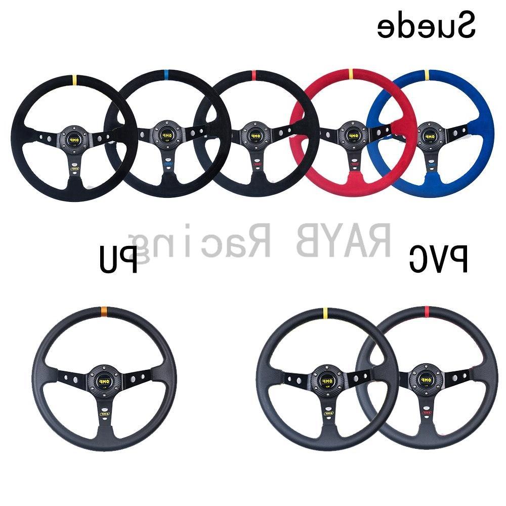 Universal 350mm Auto <font><b>Steering</b></font> <font><b>wheels</b></font> With Logo