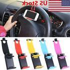 US Car Steering Wheel Phone Socket Holder Car Driving GPS Su