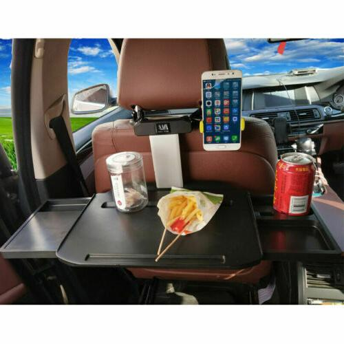 US Foldable Car Wheel Back Table Cup Holder
