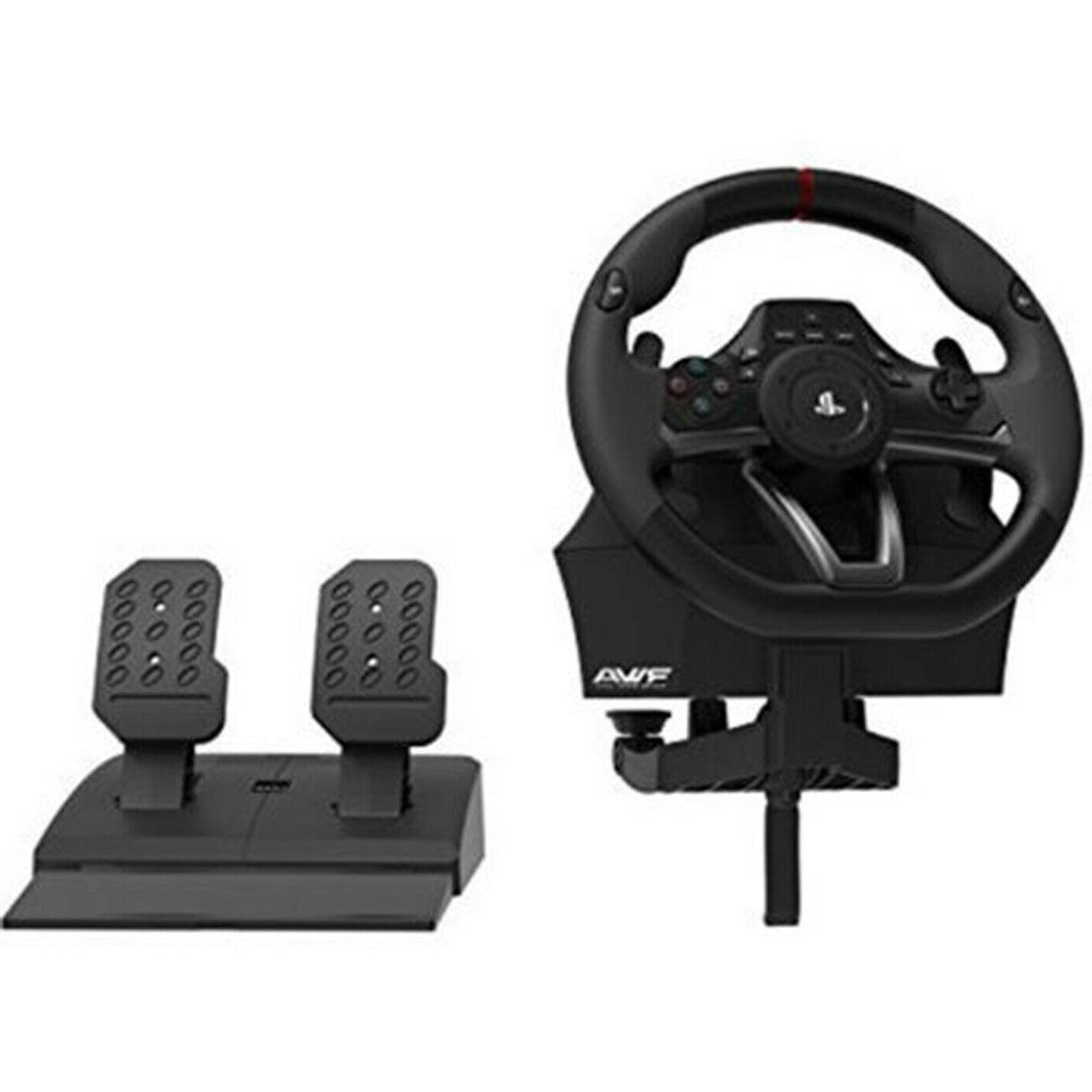 Playstation One APEX Racing Steering Wheel Pedal Set Racing