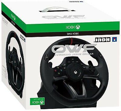 Xbox One Hori Rwo Racing Steering Wheel Overdrive