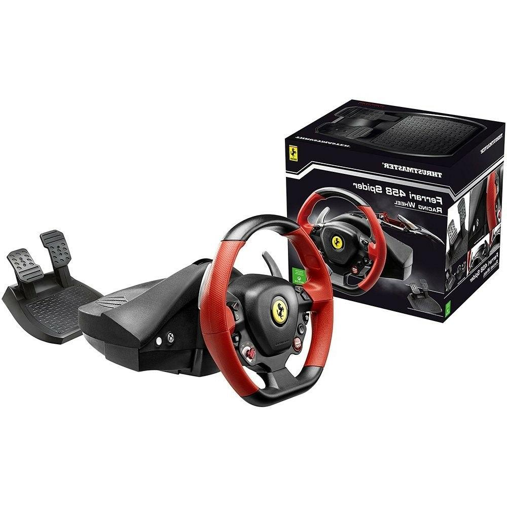 Xbox One Steering Wheel Controller Video Game 458 Ferrari