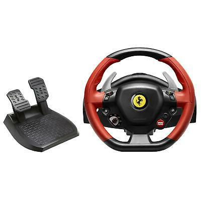 Xbox One Steering Wheel Controller Driving Pedals Racing Vid