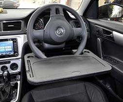 laptop steering wheel desk auto