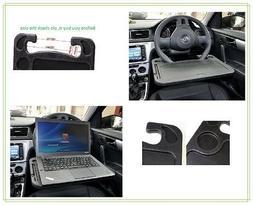 Laptop Steering Wheel Desk For Lap Notepad Car Mount Mobile