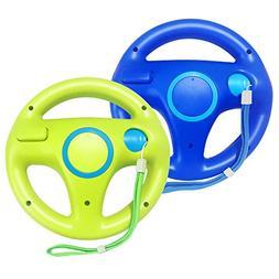 Jadebones 2 Pack Mario Kart Racing Steering Wheel with Wrist
