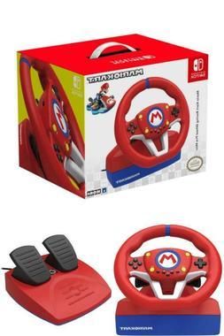 Mario Steering Wheel And Pedal Set Racing Gaming Simulator N