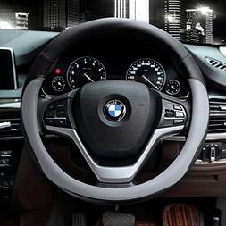 microfiber leather steering wheel covers universal 15