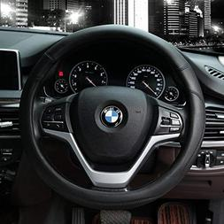 Valleycomfy Microfiber Leather Steering Wheel Covers Univers