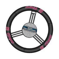 Fremont Die MLB Leather Steering Wheel Cover St. Louis Cardi