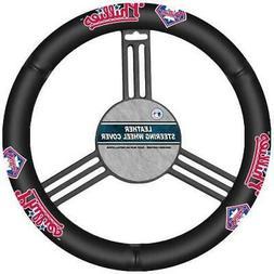 Fremont Die MLB Philadelphia Phillies Leather Steering Wheel