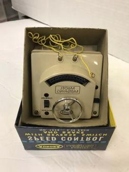 AURORA MODEL MOTORING STEERING WHEEL SPEED CONTROL #1348 FRE