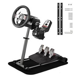 Mophorn Racing Steering Wheel Stand 360 Degree Stepless Adju