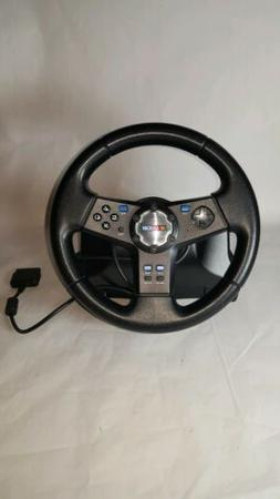 Nascar Racing Steering Wheel By LogItech For PS2