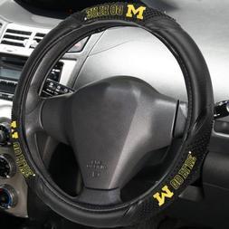 Fremont Die NCAA Michigan Wolverines Massage Steering Wheel