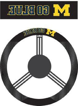 Fremont Die NCAA Michigan Wolverines Polysuede Steering Whee