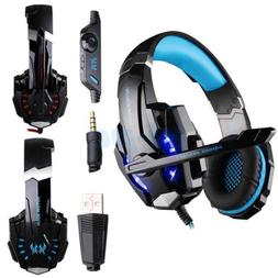 new each g9000 wired gaming stereo headset