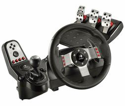 New / Sealed Logitech G27  Racing Steering Wheel, Shifter &