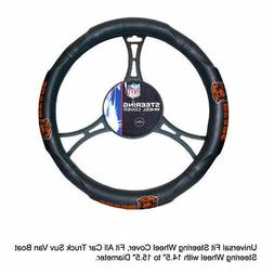 NFL Chicago Bears Synthetic Leather Premium Steering Wheel C