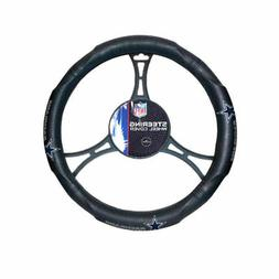 NFL Dallas Cowboys Synthetic Leather Premium Steering Wheel