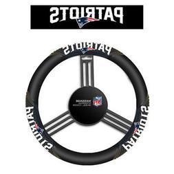NFL New England Patriots Massage Grip Steering Wheel Cover,