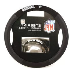Fremont Die NFL New England Patriots Poly-Suede Steering Whe