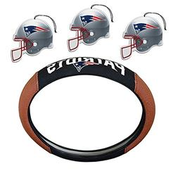 NFL Fan Shop Auto Bundle. Premium Pigskin Leather Accented S
