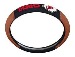 NFL Kansas City Chiefs Steering Wheel Cover