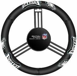 Fremont Die NFL Philadelphia Eagles Leather Steering Wheel C