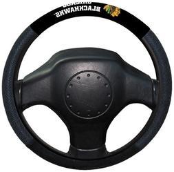 Fremont Die NHL Chicago Blackhawks Poly-Suede Steering Wheel