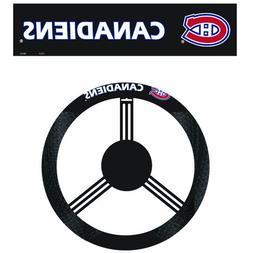 Fremont Die NHL Montreal Canadiens Poly-Suede Steering Wheel