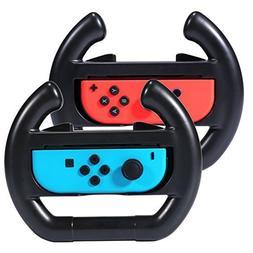 Nintendo Switch Racing Wheel KingTop 2 pack Mario Kart Steer
