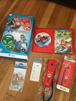 Nintendo Wii U Mario Kart 8 Steering Wheels, Game, Mug, Remo