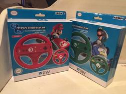 Nintendo Wii U Hori Mario Kart 8 Steering Wheels Luigi Green