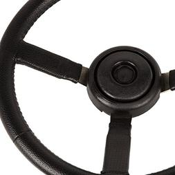 Omix-ADA 18031.11 Steering Wheel, Sport, Leather, Black, Jee