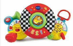VTech On-The-Go Baby Driver, Realistic Car Sound Effects And