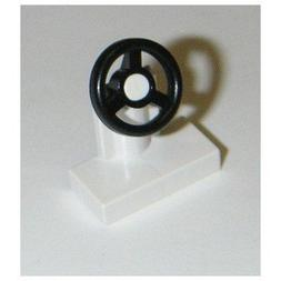 Lego Parts: 25 Black Steering Wheels