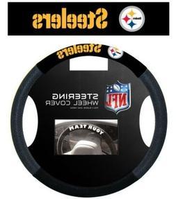 Pittsburgh Steelers Mesh Steering Wheel Cover