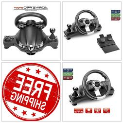 Playstation 4 PS4 Pro Xbox One S PS3 Racing Steering Wheel S