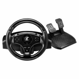 PlayStation 4 Steering Wheel & Pedal Set Racing Gaming Simul