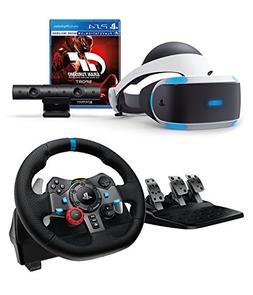 Playstation VR Enhanced Gran Turismo Sport with Logitech Dua