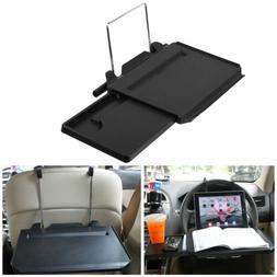 Portable Car Desk Steering Wheel Stand Mount Back Seat Food