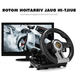 Racing Game Steering Wheel Driving For PC PS3 PS4 Xbox Brake