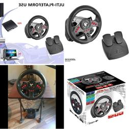 Racing games steering Wheel PC PS3 ps4 PlayStation 3 4 pedal