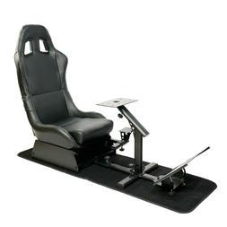 Racing Seat Gaming Chair Simulator Cockpit Steering Wheel St