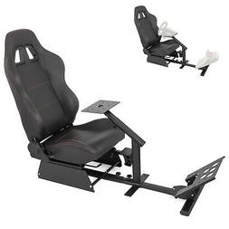 Simulator Cockpit Steering Wheel Stand Racing Seat Gaming Ch