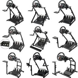 Racing Simulator Cockpit Steering Wheel Stand for Logitech G