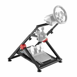 Conquer Racing Simulator Driving Gaming Wheel Stand and Gear